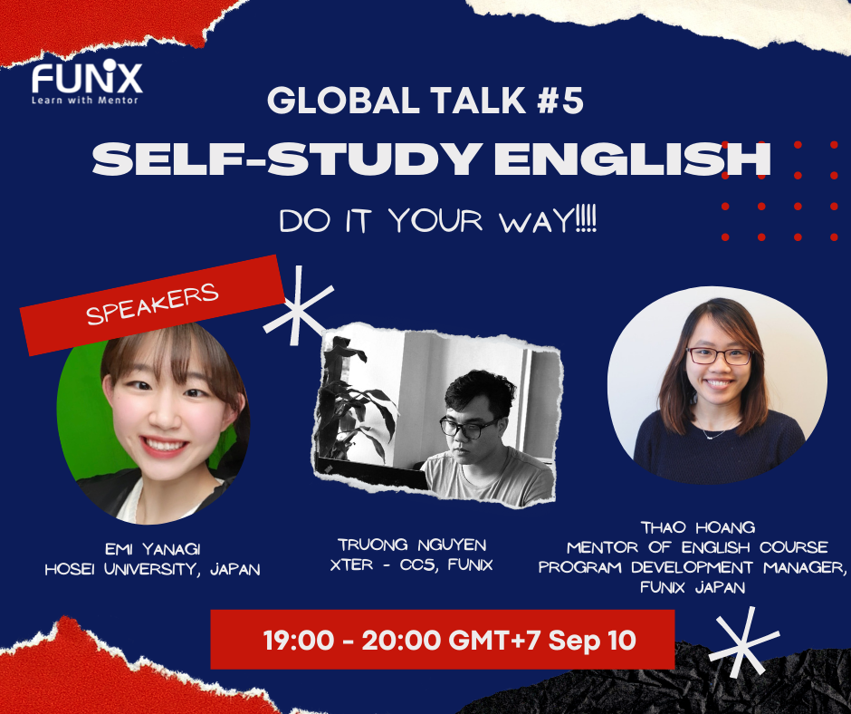 Global Talk #5: Self-Learning English – Do it your way!