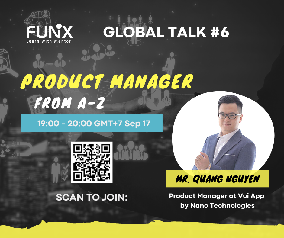 Global Talk #6: Product Manager – From A-Z